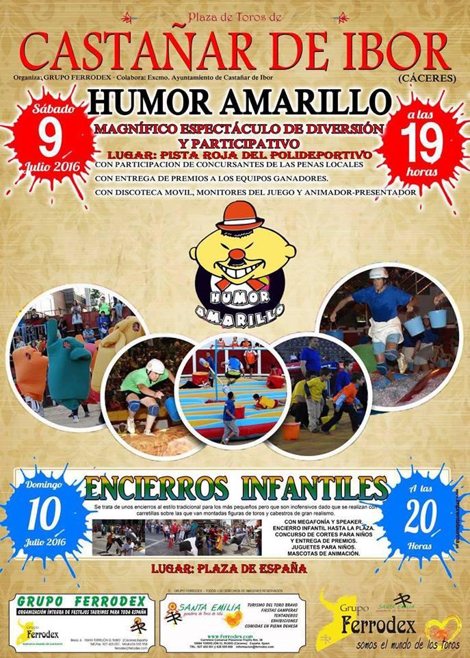 Humor Amarillo 2016 - Castañar de Ibor