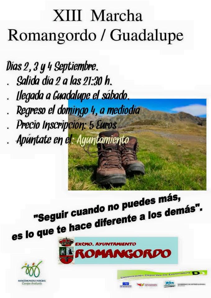 XIII Marcha Romangordo-Guadalupe