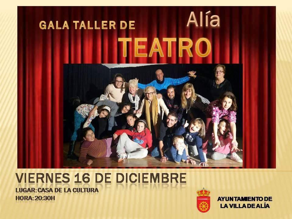 Gala taller de teatro 2016 - Alía
