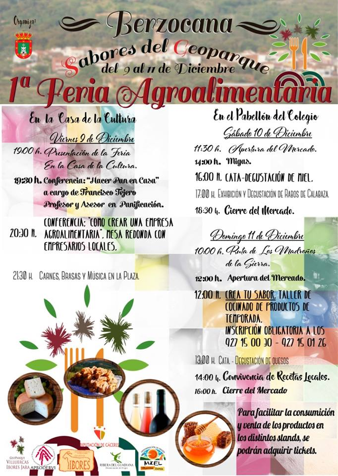 I Feria Agroalimentaria - Berzocana