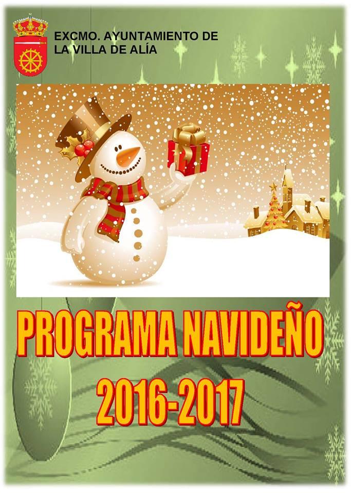 Programa navideño 2016-2017 - Alía 1