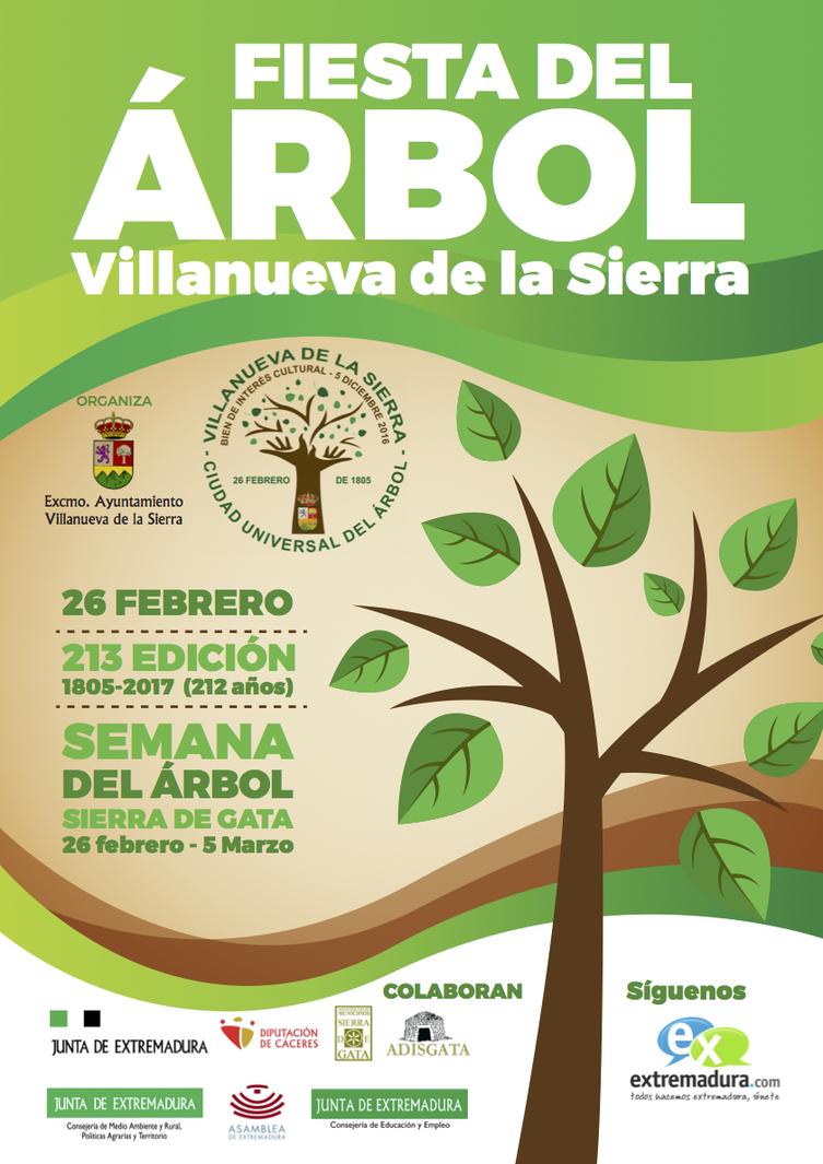 Fiesta del árbol 2017 - Villanueva de la Sierra