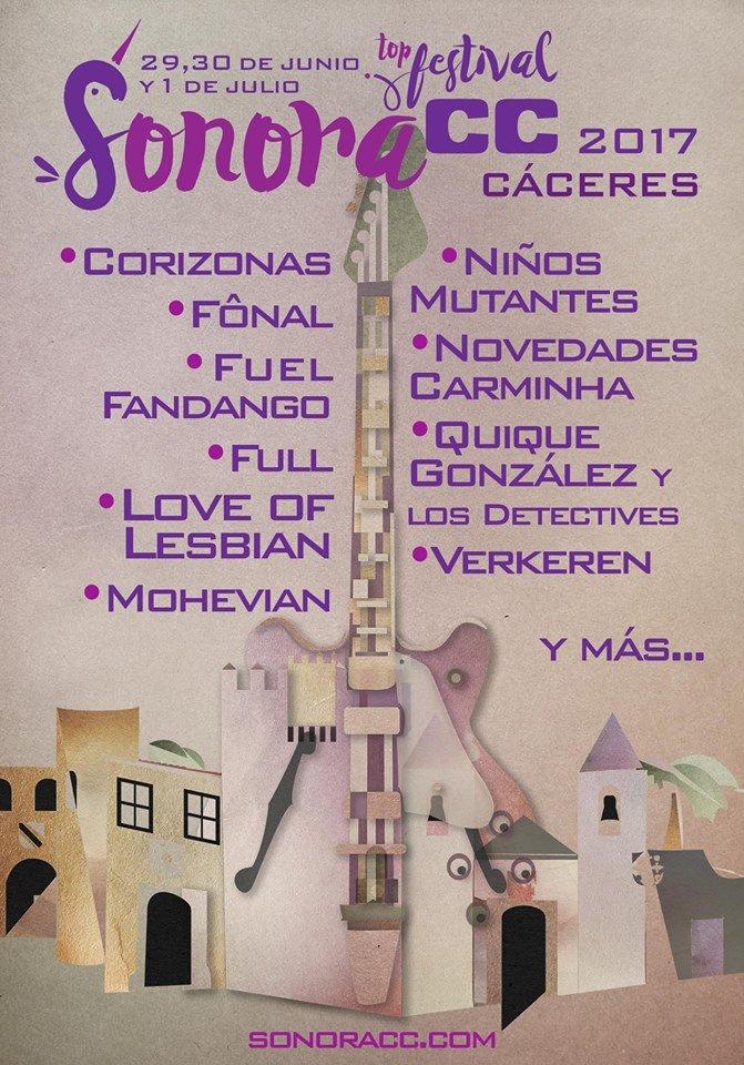 Festival Sonora CC 2017 - Cáceres