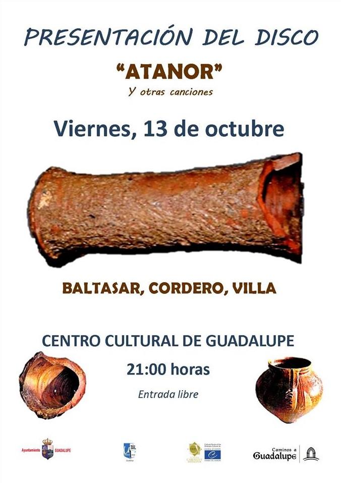 Presentación del disco Atanor - Guadalupe