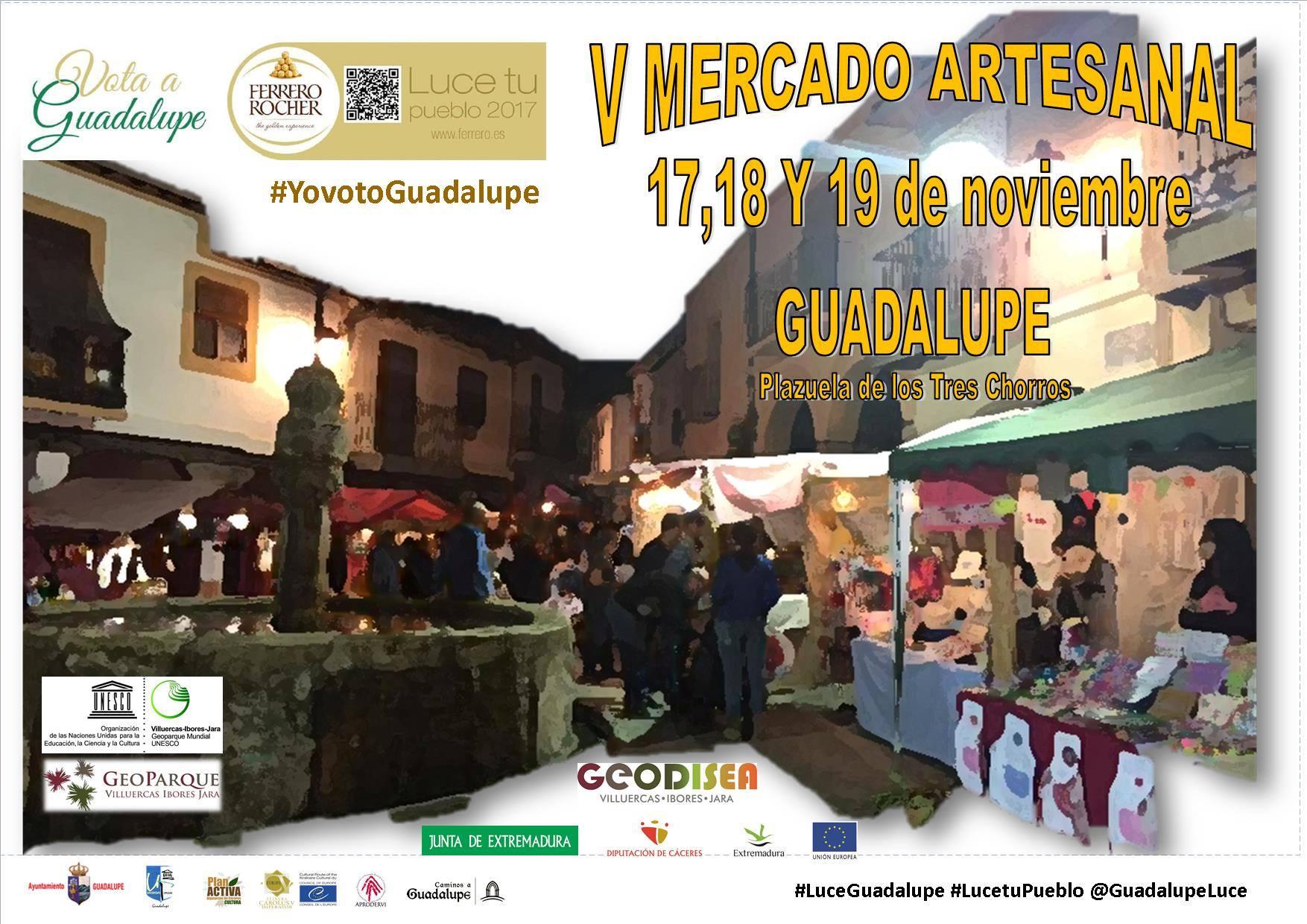 V Mercado Artesanal - Guadalupe