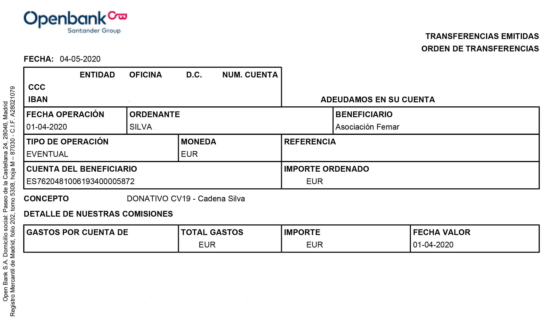 Cadena Silva ayudó económicamente a la residencia de Logrosán (Cáceres) 2020 8