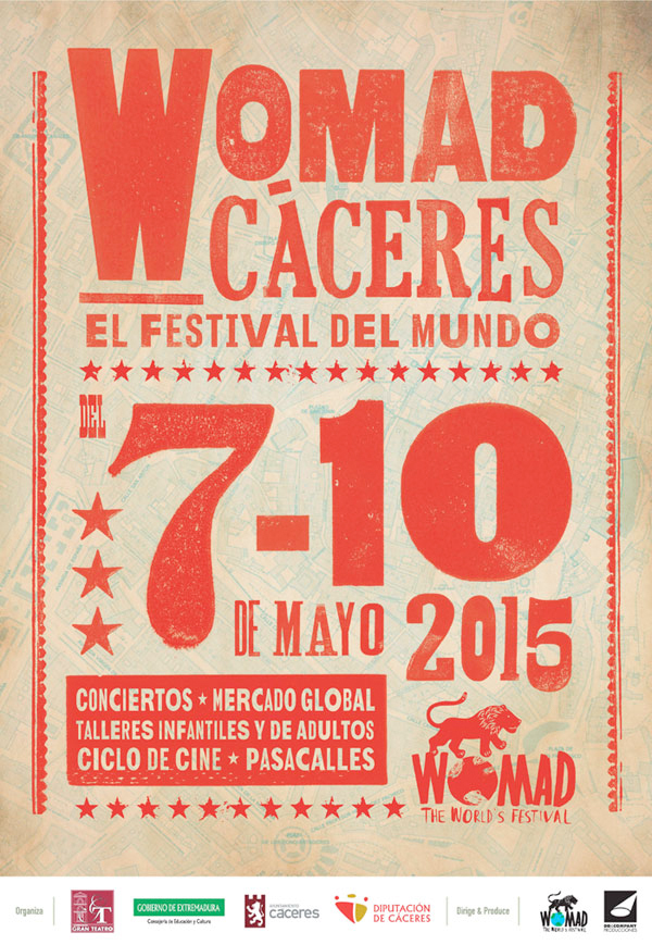 WOMAD 2015 - Cáceres