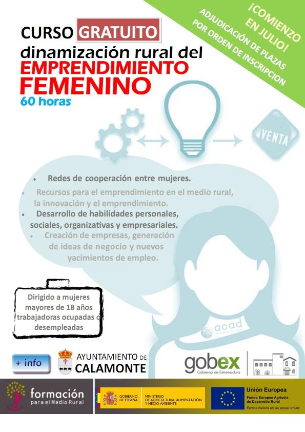 Emprendimiento femenino 2015 - Calamonte (Badajoz)