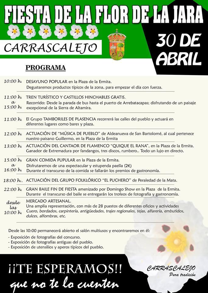 Fiesta de la Flor de la Jara 2016 - Carrascalejo