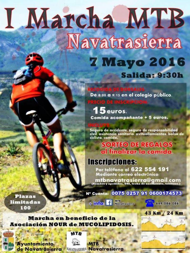 I Marcha MTB - Navatrasierra (Cáceres)