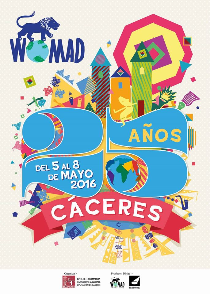 WOMAD 2016 - Cáceres