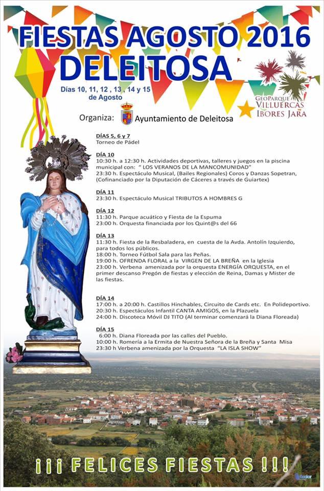 Fiestas agosto 2016 - Deleitosa (Cáceres)