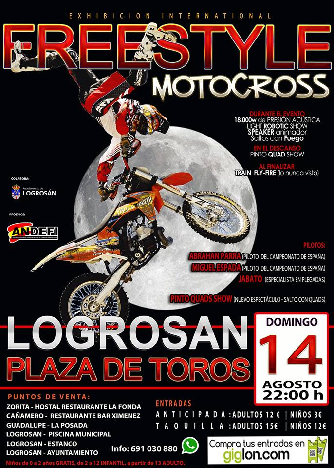 Freestyle Motocross 2016 - Logrosán