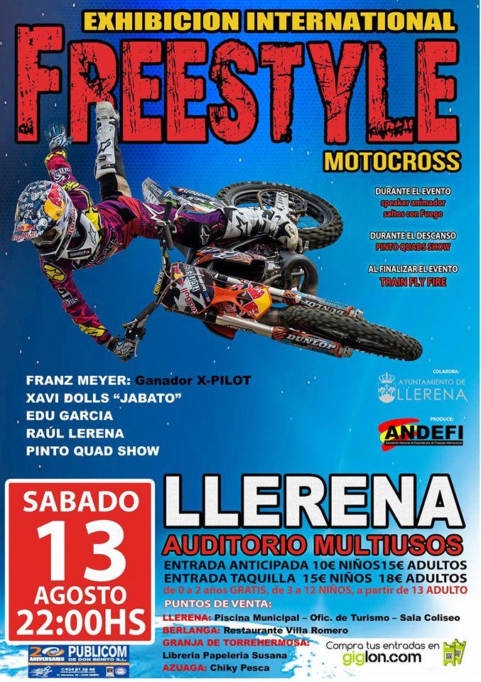 Freestyle Motocross Agosto 2016 - Llerena