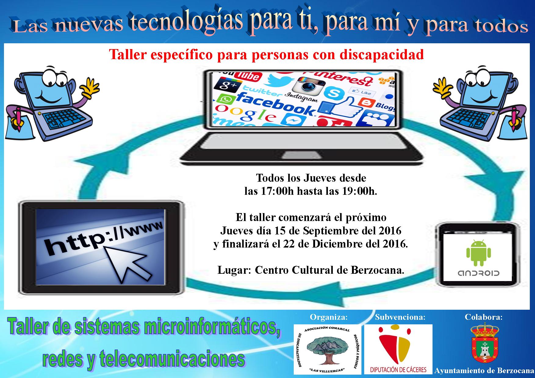 Taller de Sistemas microinformáticos, redes y telecomunicaciones 2016 - Berzocana
