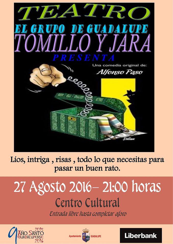 Teatro Tomillo y Jara agosto 2016 - Guadalupe (Cáceres)