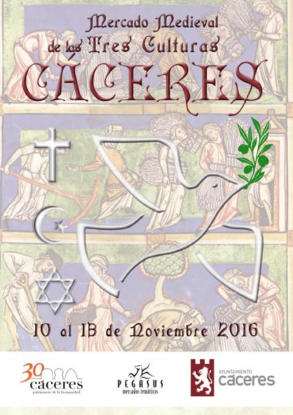 Mercado medieval de las tres culturas 2016 - Cáceres 1