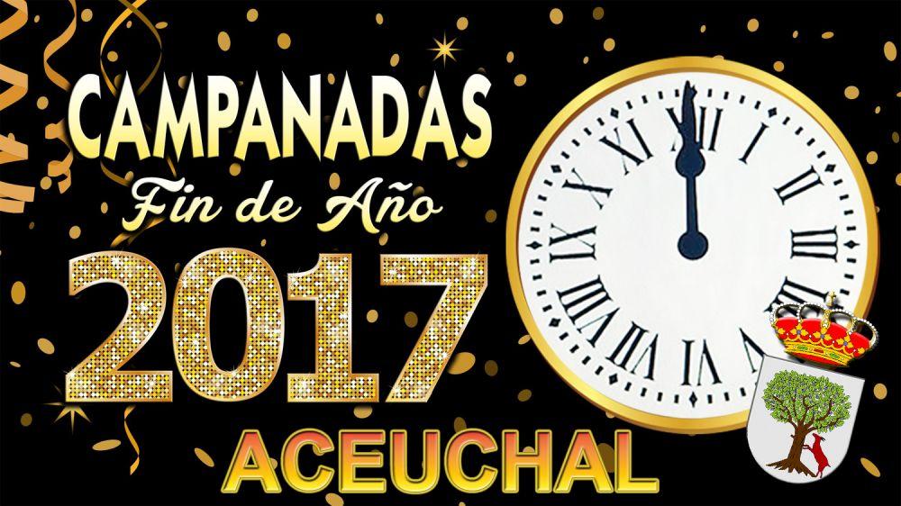 Fiesta campanadas fin de año 2016 - Aceuchal (Badajoz)
