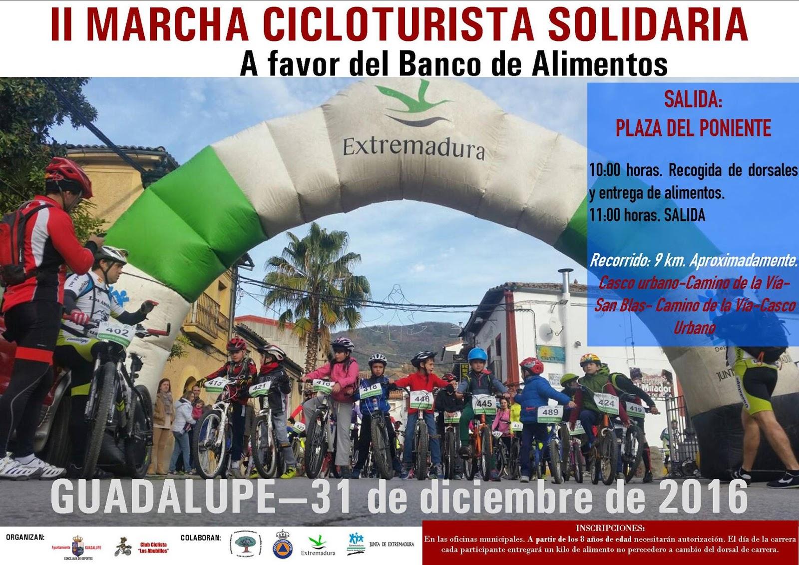II Marcha Cicloturista Solidaria - Guadalupe