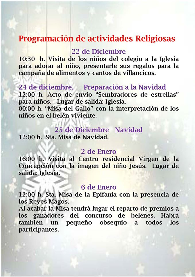 Programa navideño 2016-2017 - Alía 6