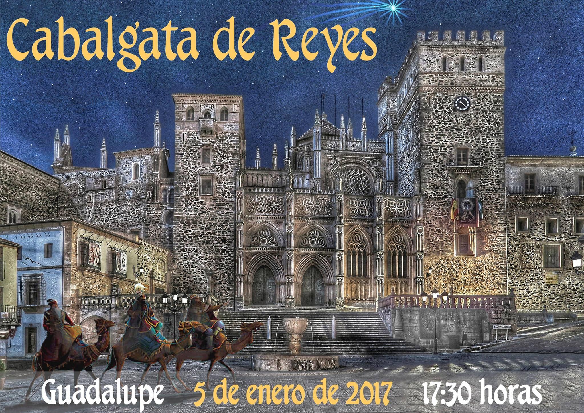 Cabalgata de Reyes 2017 - Guadalupe