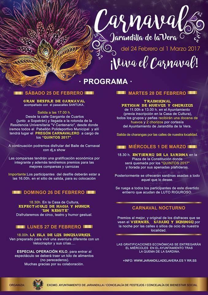 Carnaval 2017 - Jarandilla de la Vera 2