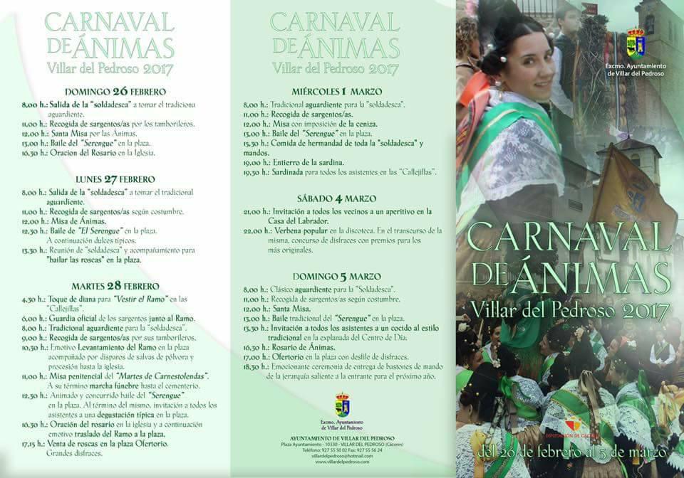 Carnaval 2017 - Villar del Pedroso 2
