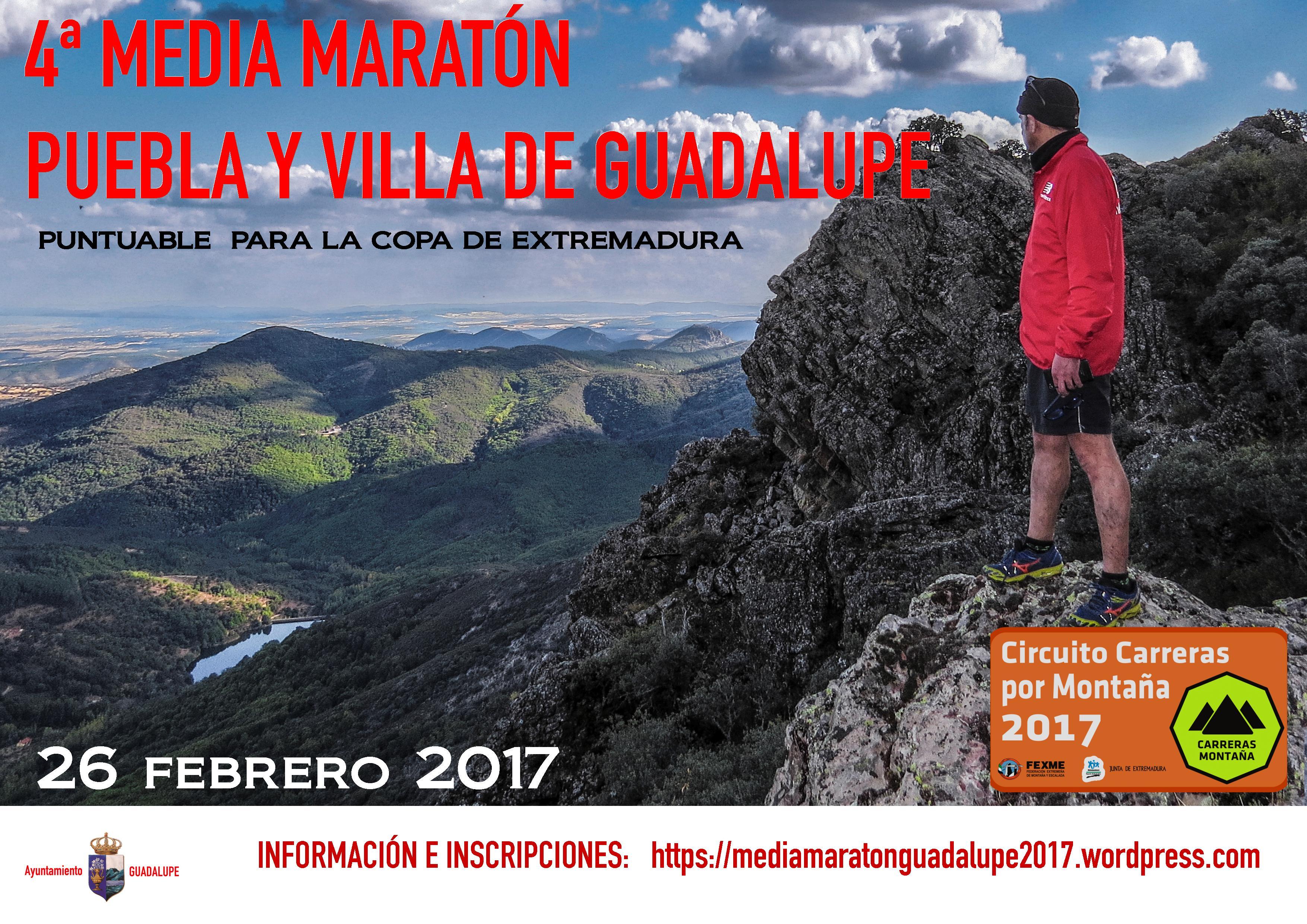 IV Media Maratón por Montaña - Guadalupe