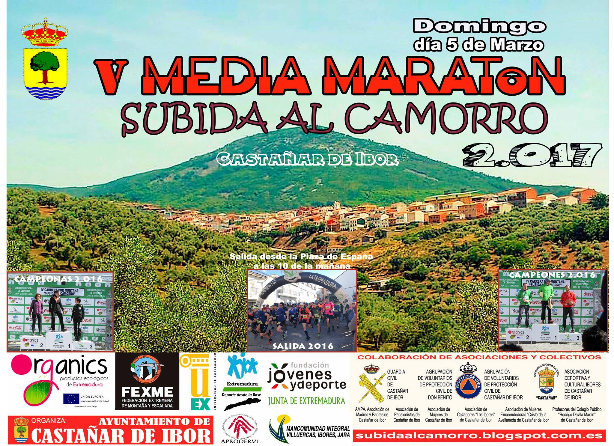V Media maratón - Castañar de Ibor