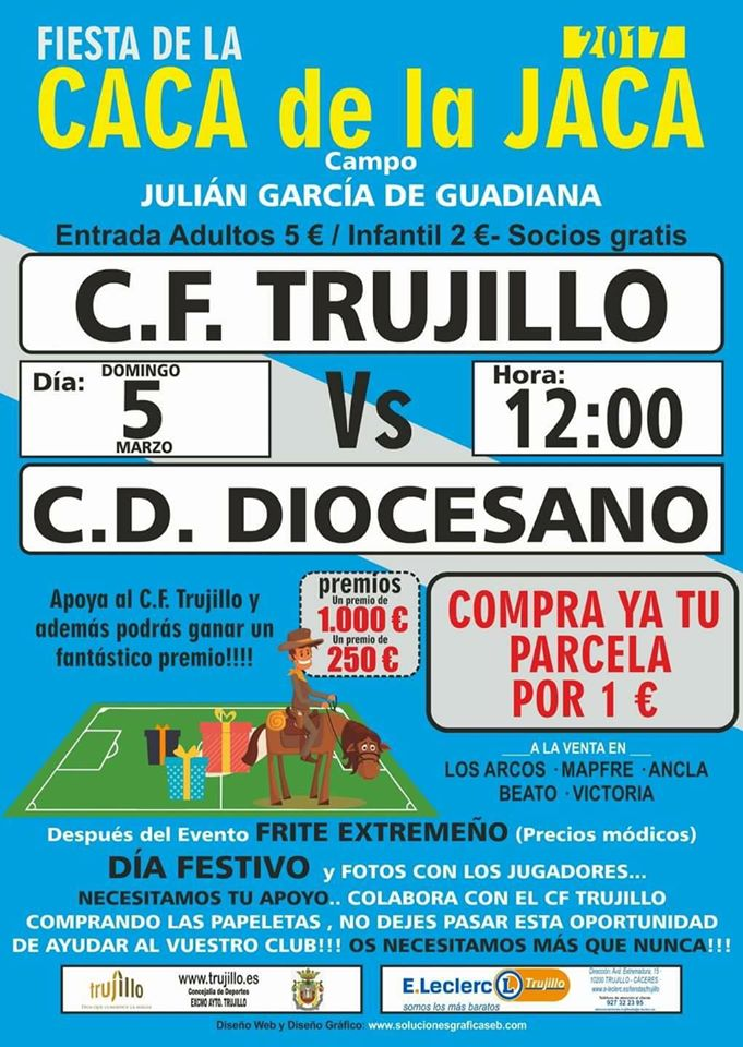 Fiesta de la Caca de la Jaca 2017 - Trujillo