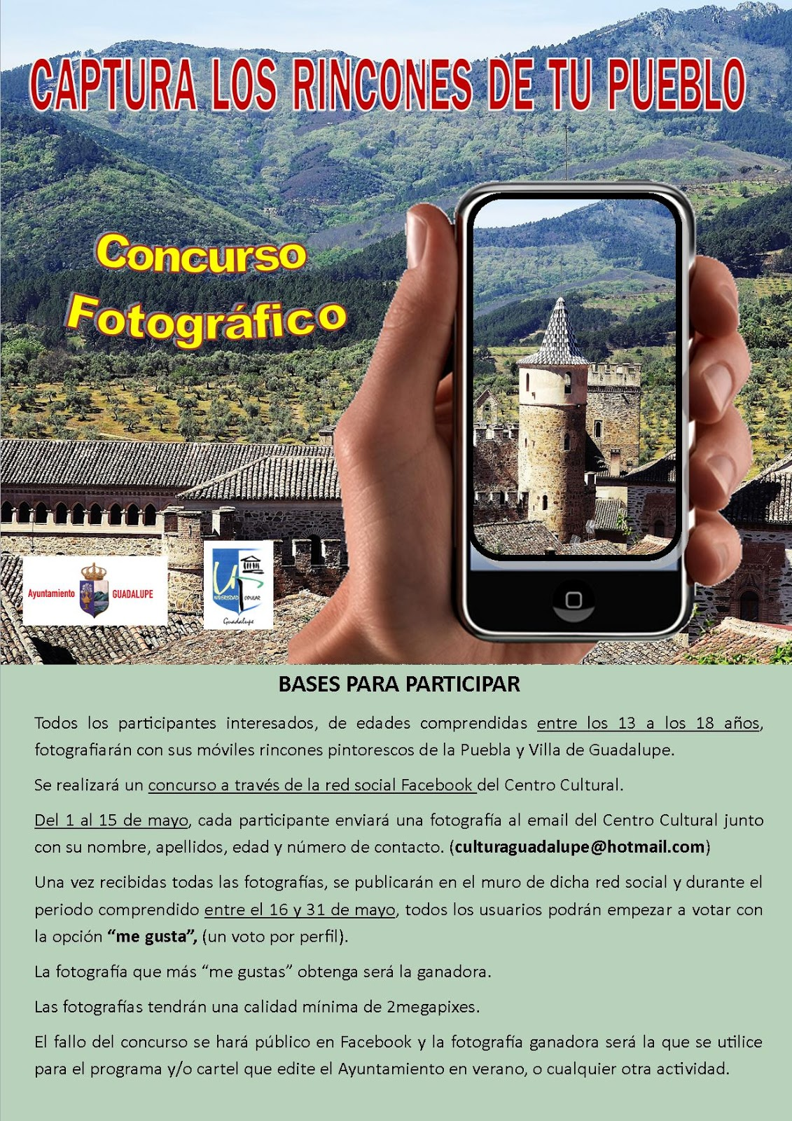 Concurso fotográfico Mayo 2017 - Guadalupe