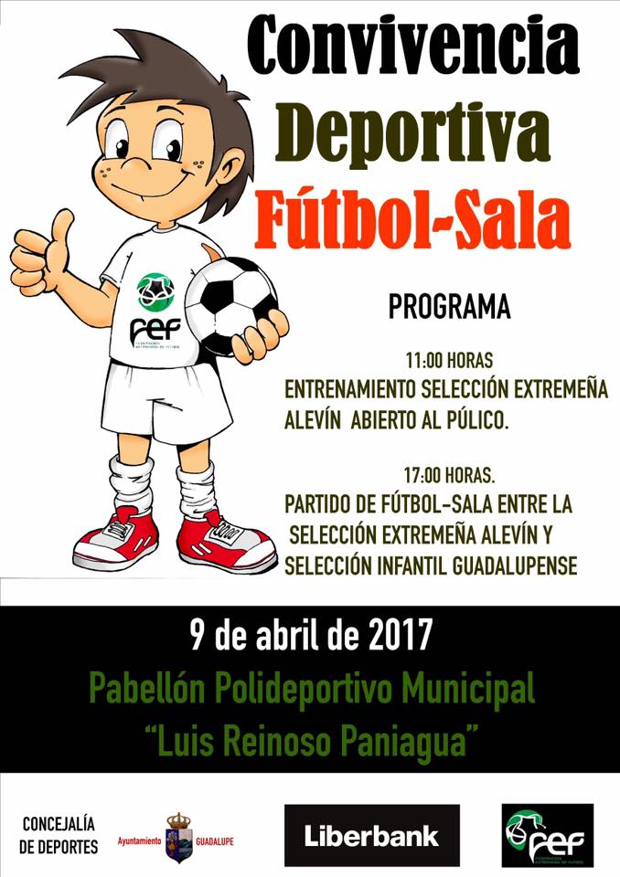 Convivencia deportiva de fútbol sala (2017) - Guadalupe (Cáceres)