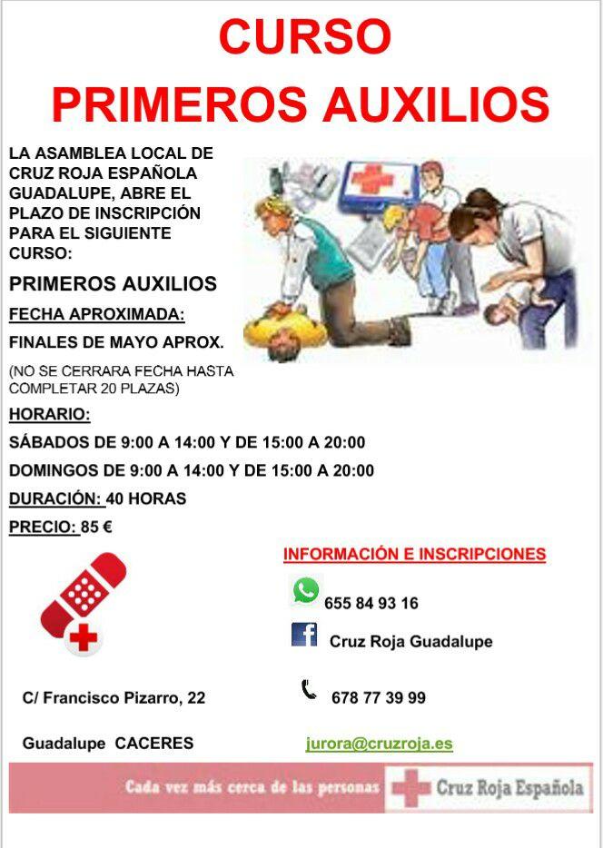 Primeros auxilios 2017 - Guadalupe