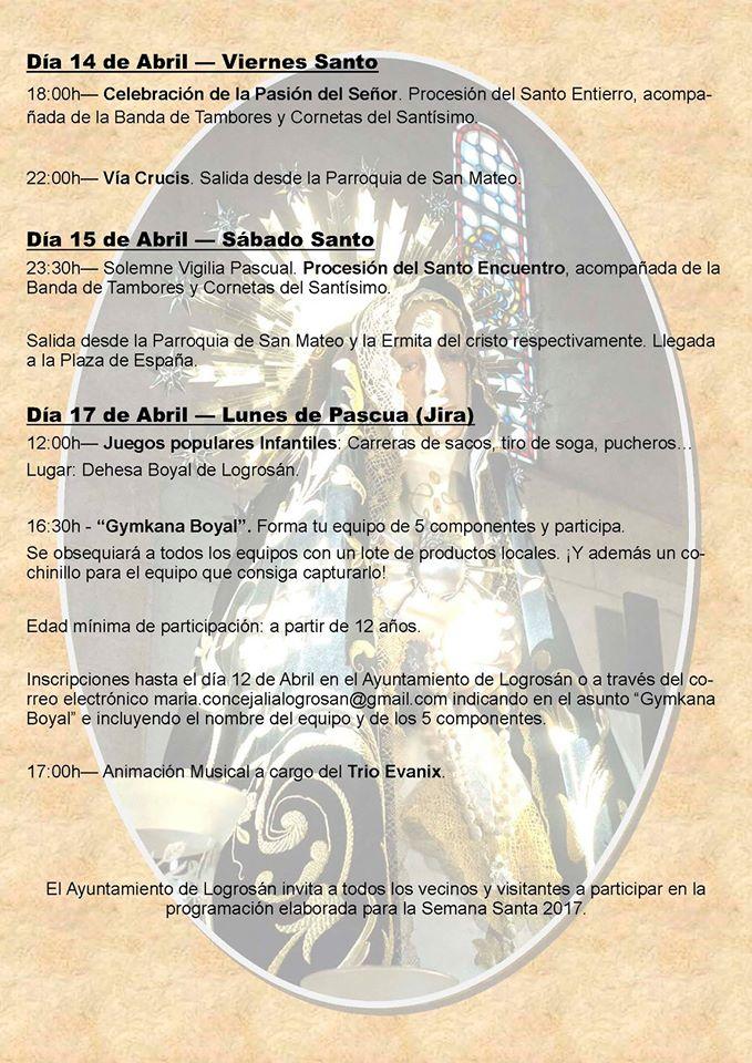 Semana Santa 2017 - Logrosán 3