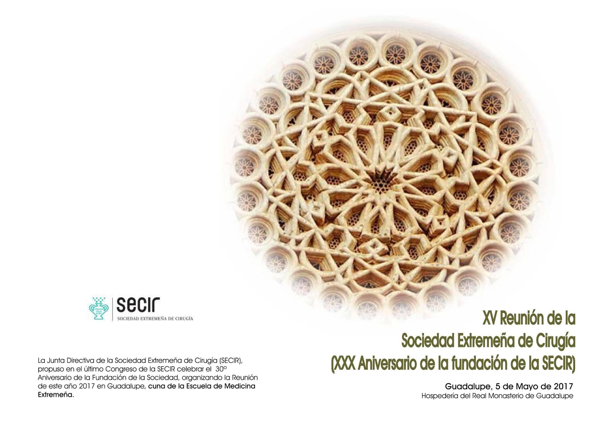 XV Reunión de la Sociedad Extremeña de Cirugía