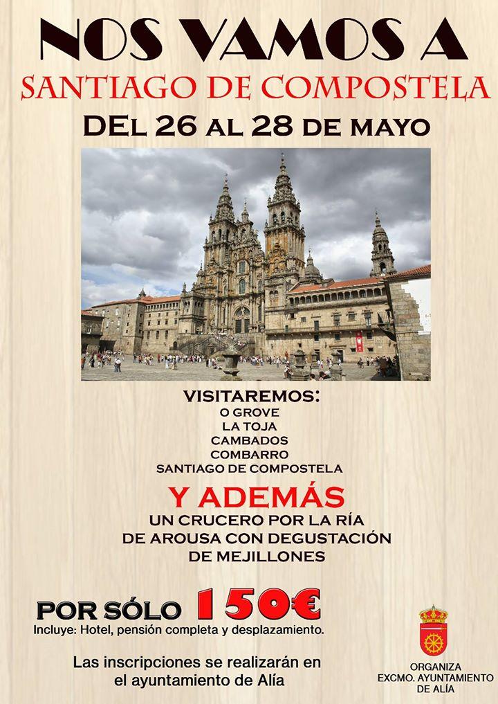 Excursión a Santiago de Compostela 2017 - Alía