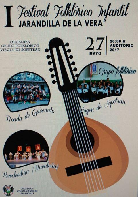 I Festival folklórico infantil - Jarandilla de la Vera