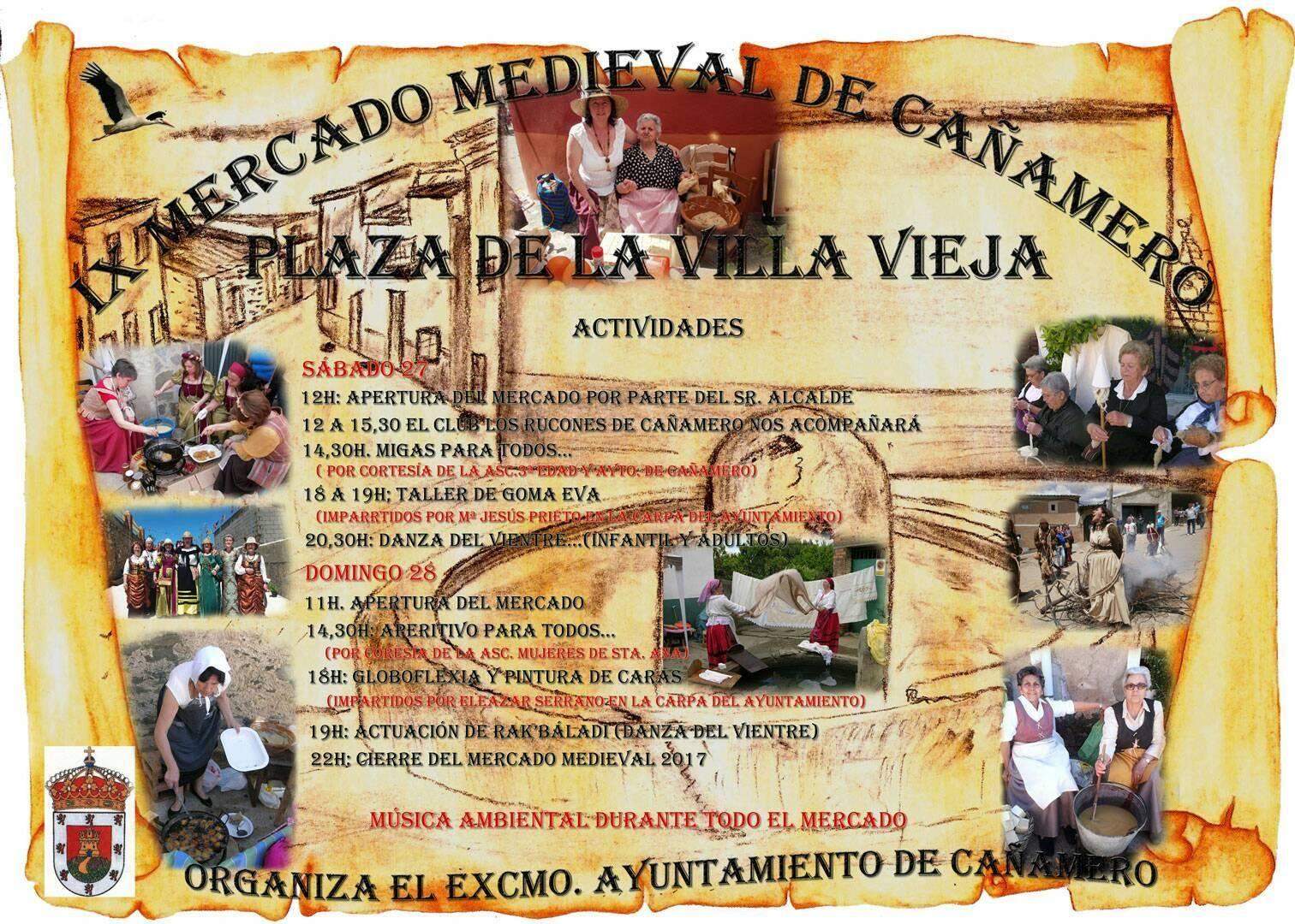 IX Mercado medieval - Cañamero