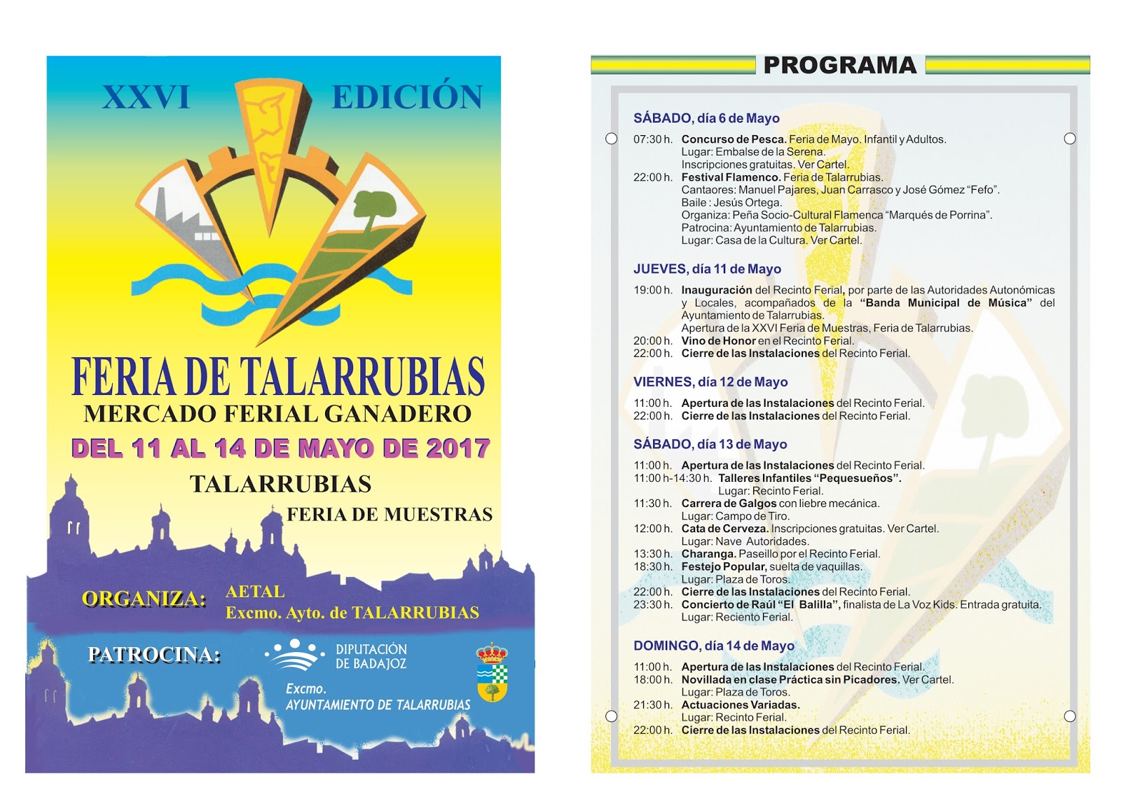 XXVI Feria de muestras - Talarrubias