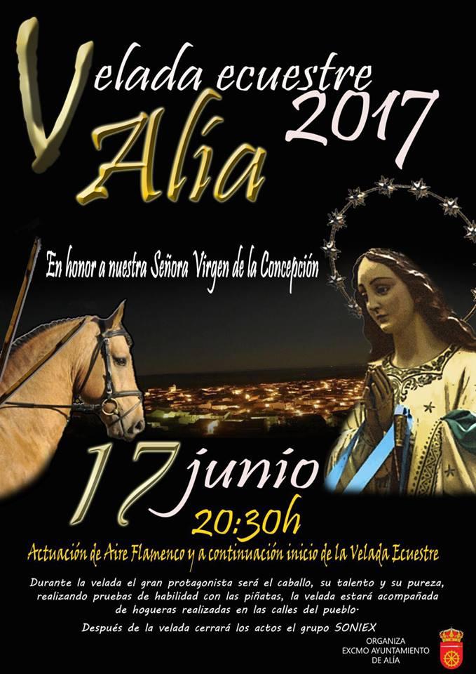 Velada ecuestre 2017 - Alía