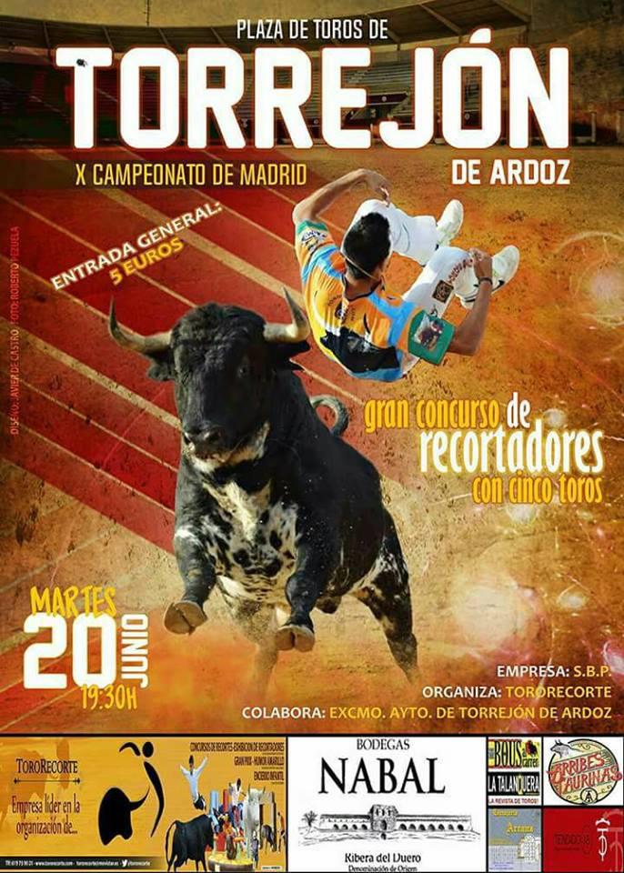 X Concurso de recortadores - Torrejón de Ardoz