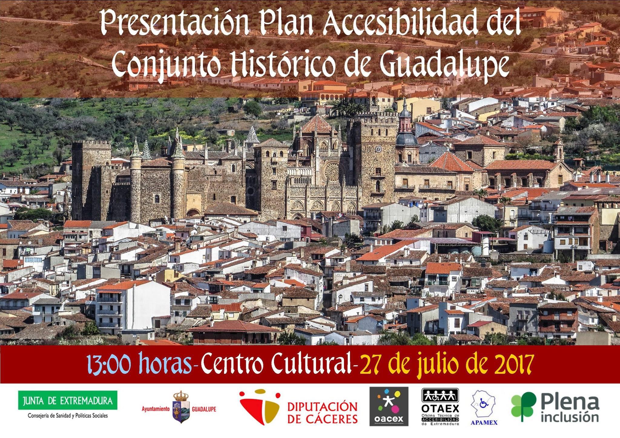 Presentación Plan Accesibilidad del Conjunto Histórico de Guadalupe