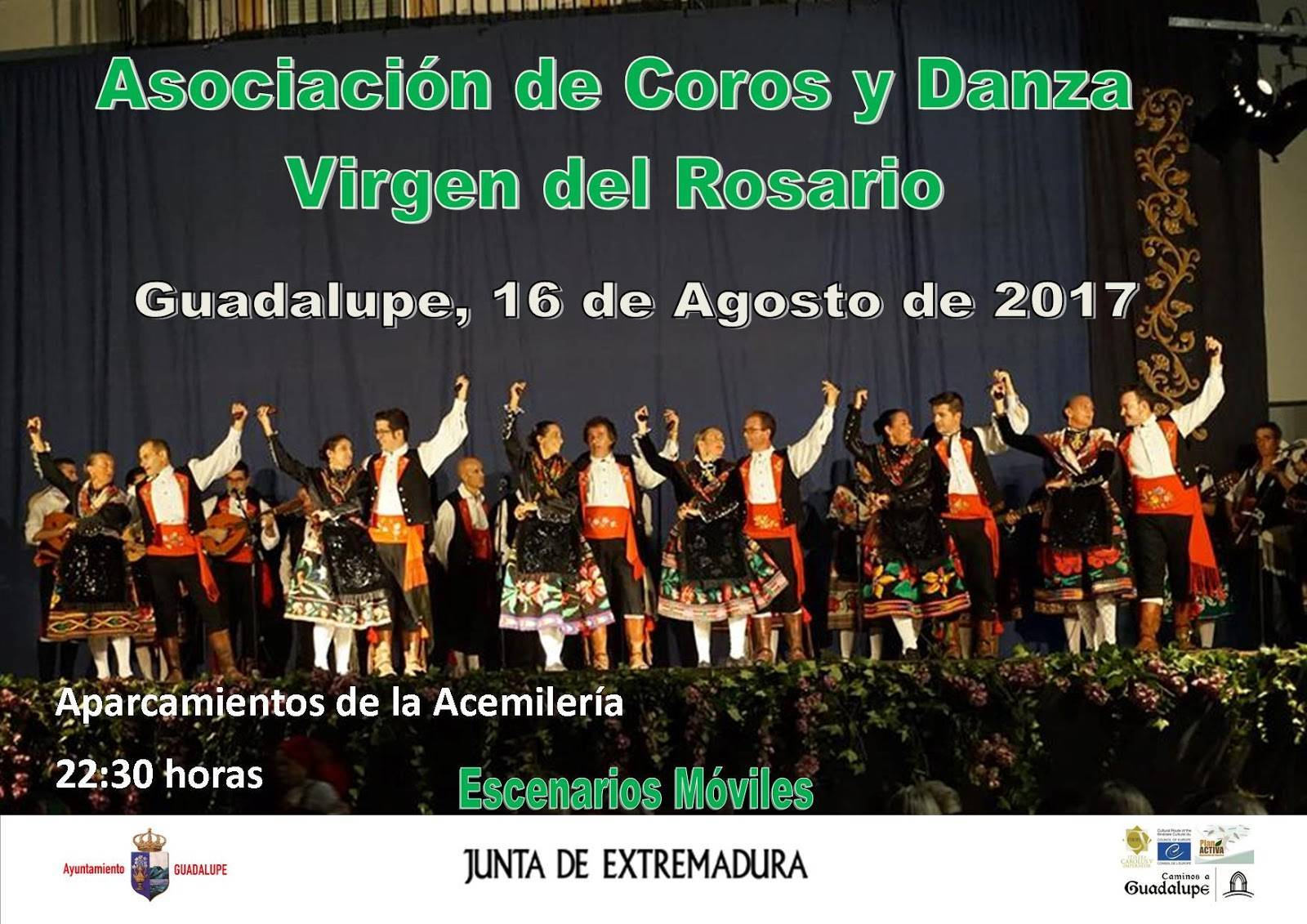 Asociación de Coros y Danza Virgen del Rosario (2017) - Guadalupe (Cáceres)