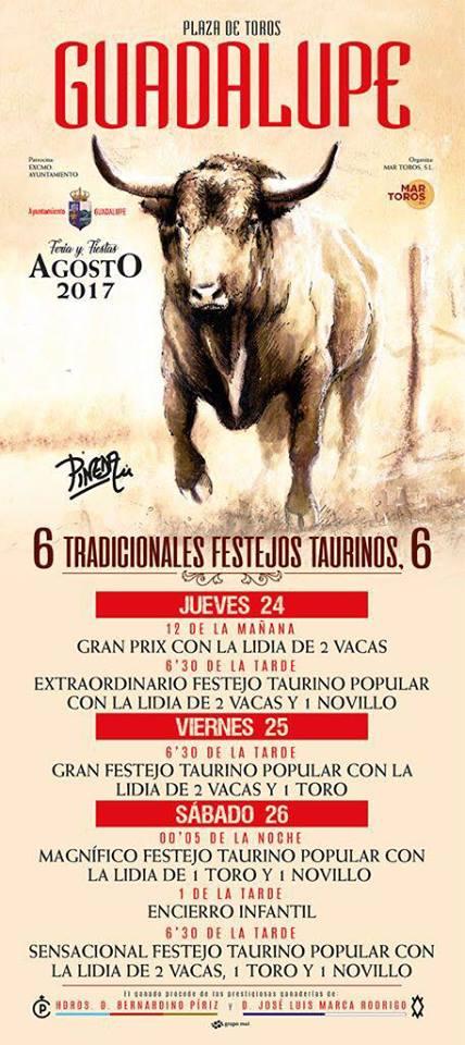 Festejos Taurinos 2017 - Guadalupe
