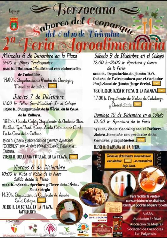 II Feria Agroalimentaria - Berzocana