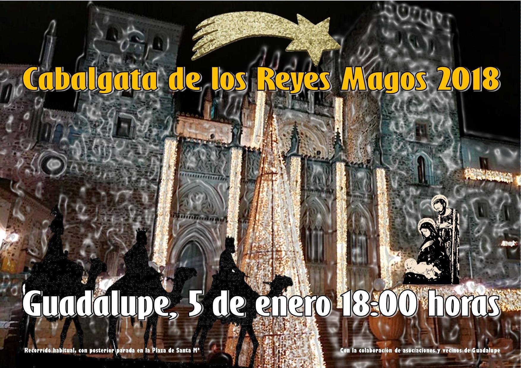 Cabalgata de los Reyes Magos 2018 - Guadalupe
