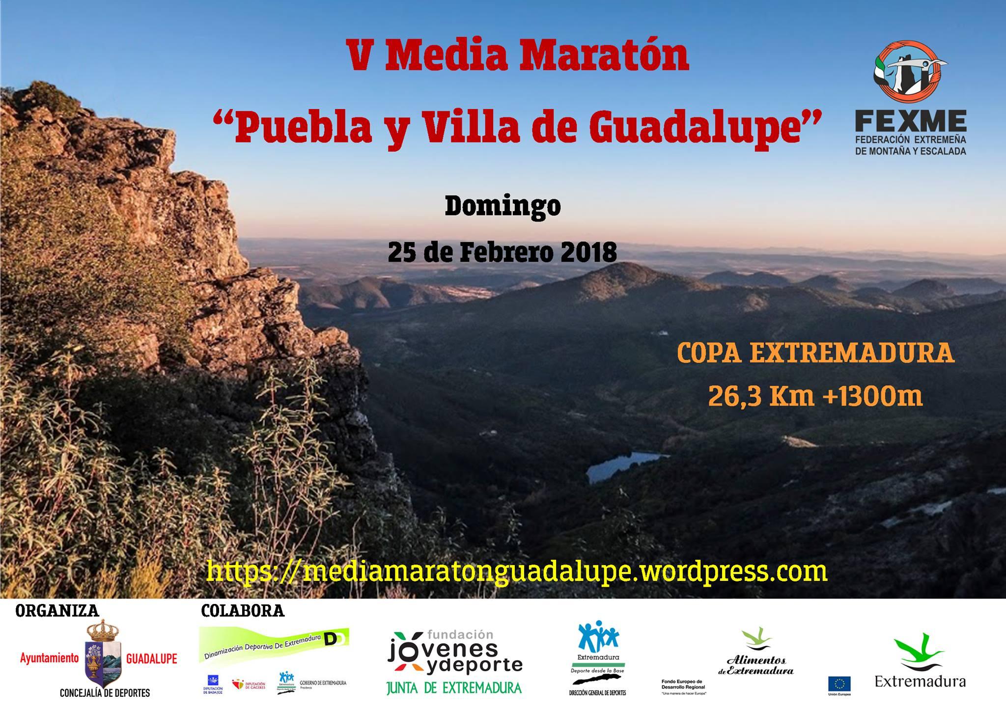 V Media Maratón por Montaña - Guadalupe