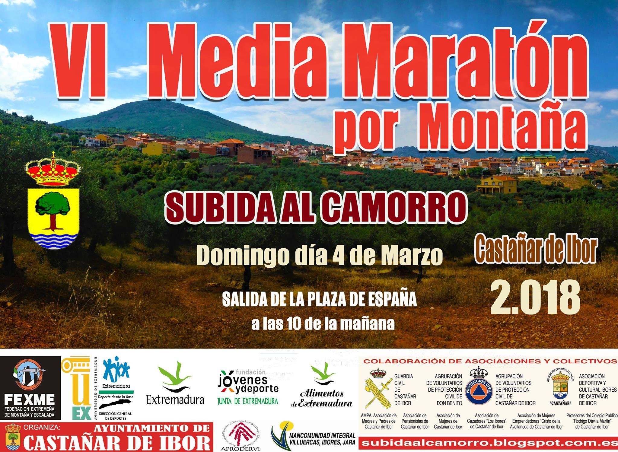 VI Media Maratón por Montaña - Castañar de Ibor
