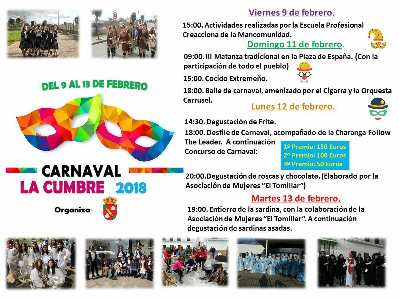 Carnaval 2018 - La Cumbre