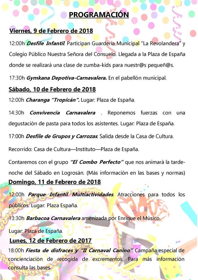 Carnaval 2018 - Logrosán (Cáceres) 2